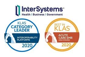 InterSystems Wins Two 2020 Best in KLAS Awards