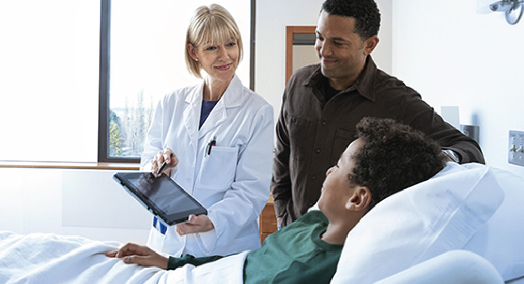 Clinical desktop solution transforms patient care experience at busy hospital