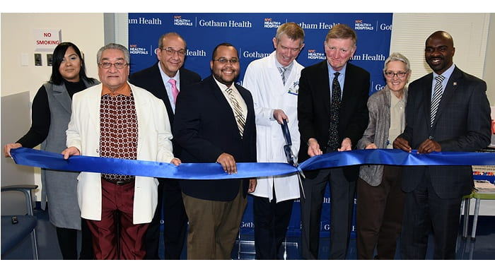 Nyc Health Hospitals Cuts The Ribbon On A Revitalized Health