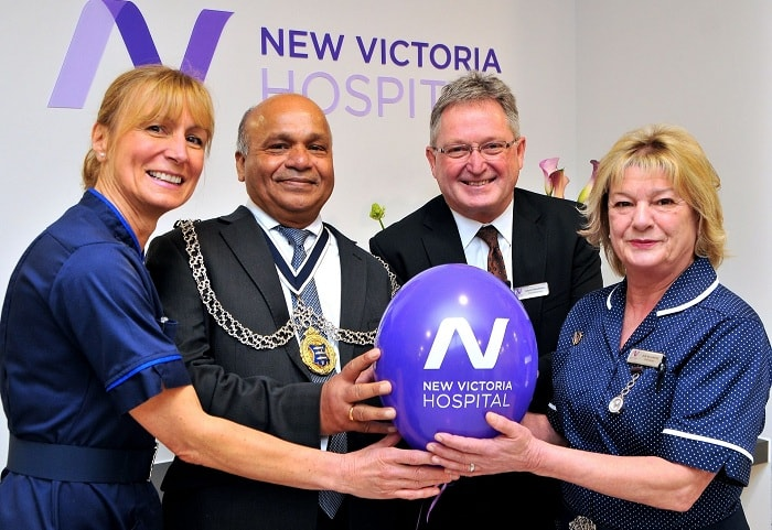 New Victoria Hospital completes extensive 30m pounds redevelopment