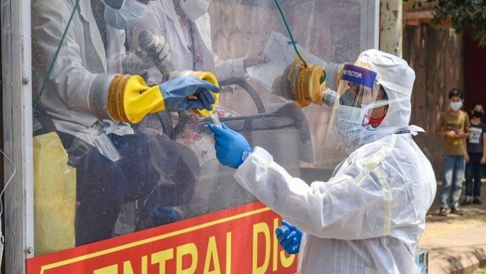 India's mobile coronavirus testing van hits New Delhi streets