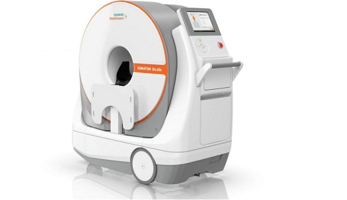 FDA Clears SOMATOM On.site from Siemens Healthineers For CT Head Exams at Patient's Bedside