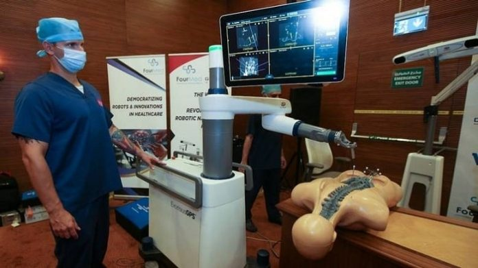 Burjeel Hospital launches the first Excelsius- GPS Robot from GLOBUS MEDICAL in MENA region for performing spine surgeries
