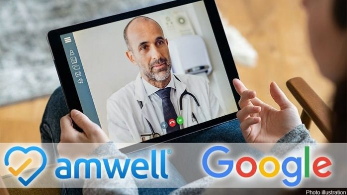 Google Invests $100M Into Telehealth Provider Amwell