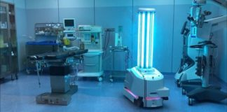 Hospital uses robotic technology to disinfect rooms from Covid-19 in fraction of time