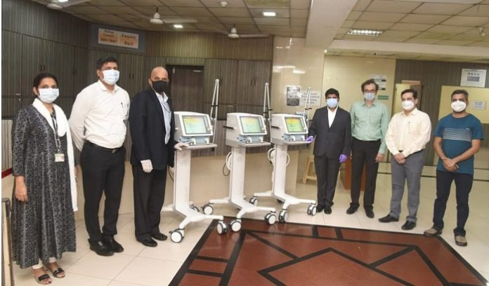 LANXESS India donates six ventilators to hospitals in Thane