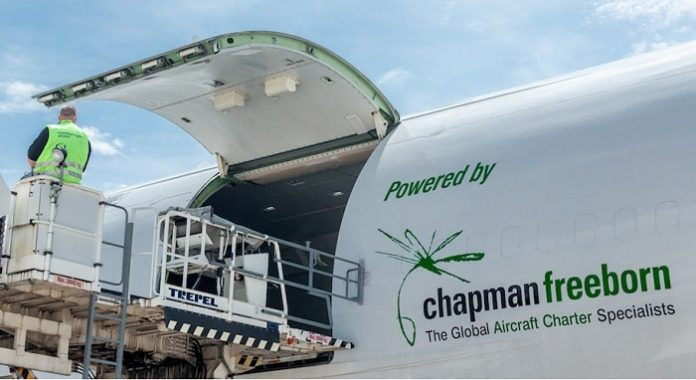 Chapman Freeborn delivers mobile hospital to aid COVID-19 relief efforts in Guinea, West Africa