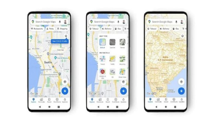 Google Maps Gets New Layer to Show COVID-19 Hotspots