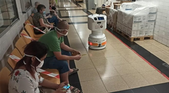 PAL Robotics completes testing of robots with Accerion positioning sensors in hospitals to fight Covid-19
