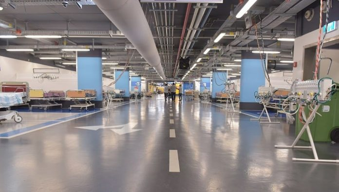 Rambam Health Care Campus Opens the Largest COVID-19 Facility in Israel