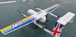 NHS deploy drones to deliver Covid-19 kit between hospitals