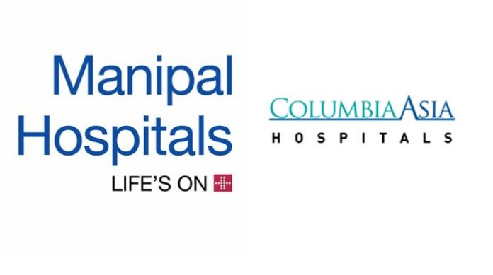 Manipal Hospitals to acquire 100% stake in Columbia Asia Hospitals in India for Rs. 2,100 crore