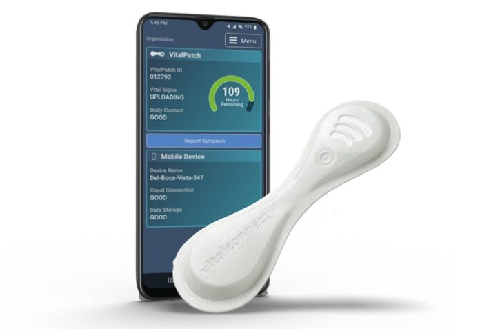 VitalConnect launches VitalPatch RTM for extended Holter monitoring