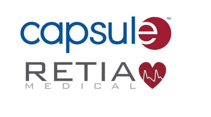 Capsule and Retia Medical Collaborate on Argos Cardiac Monitor to Streamline Device Interoperability, Protect Patient Safety