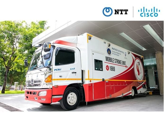Thailand's Siriraj Hospital partners with NTT and Cisco to use telemedicine for rapid treatment of stroke