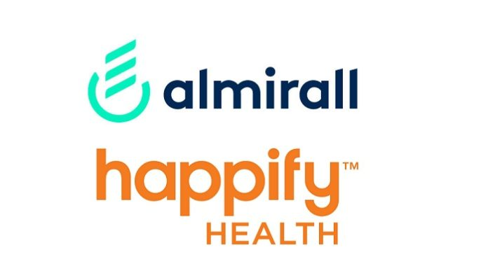 Almirall and Happify Health enter into strategic partnership to develop evidencesupported digital therapeutics solutions for psoriasis patients