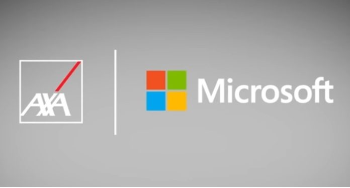 AXA collaborates with Microsoft to create the next generation standard of health and well-being services
