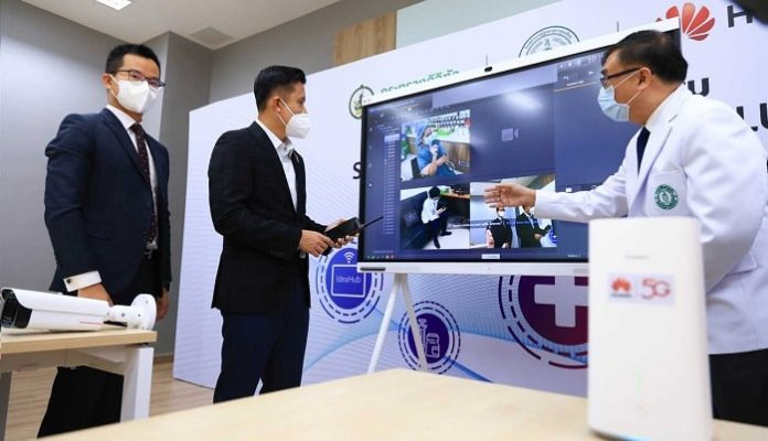 MDES joins hands with Huawei in supporting field hospital with leading communication innovations