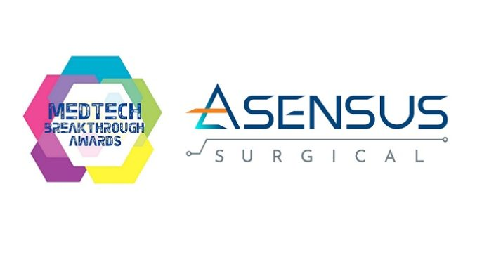 Asensus Surgical Recognized for Medical Device Innovation in 2021 MedTech Breakthrough Awards Program