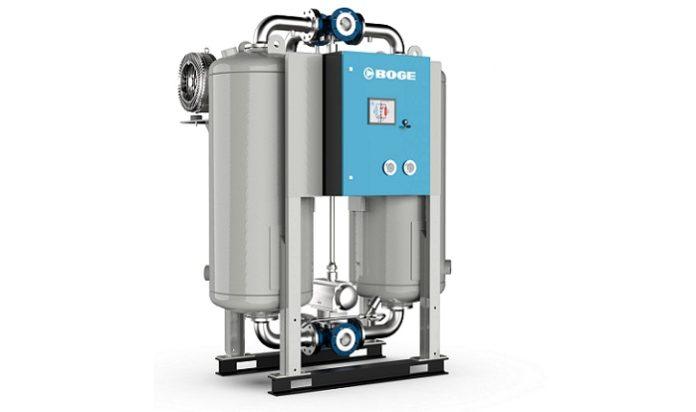 BOGE presents its new series of adsorption dryers - Maximum efficiency, high volumetric flow rates