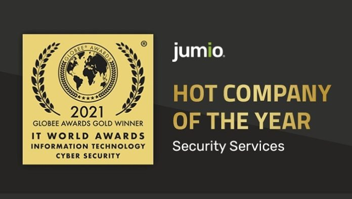 Jumio Wins Gold for Hot Company of the Year - Security Services in 2021 IT World Awards