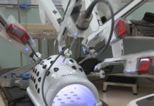 Northwest Surgical Hospital uses new robotic technology to help treat patients and protect from COVID-19