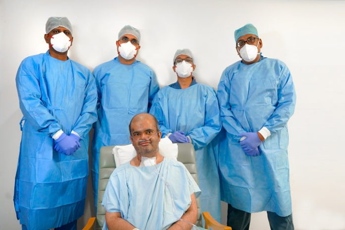 Karnataka witnesses first ever post covid double lung transplant of 30-yr-old doctor and Covid warrior at Aster CMI Hospital
