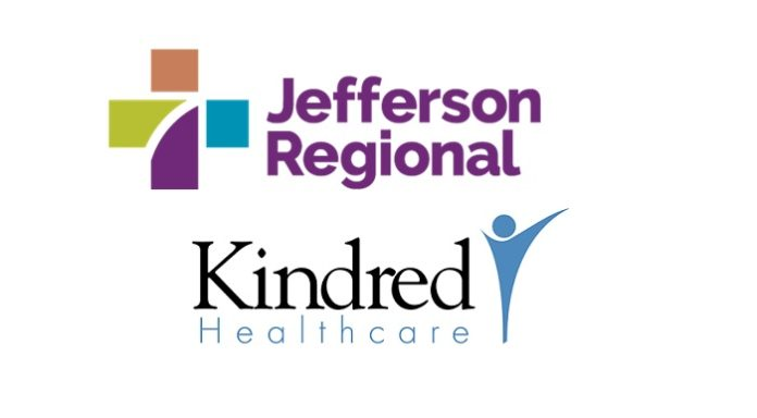 Jefferson Regional and Kindred Healthcare Announce Plans for Inpatient Rehabilitation and Behavioral Health Hospital