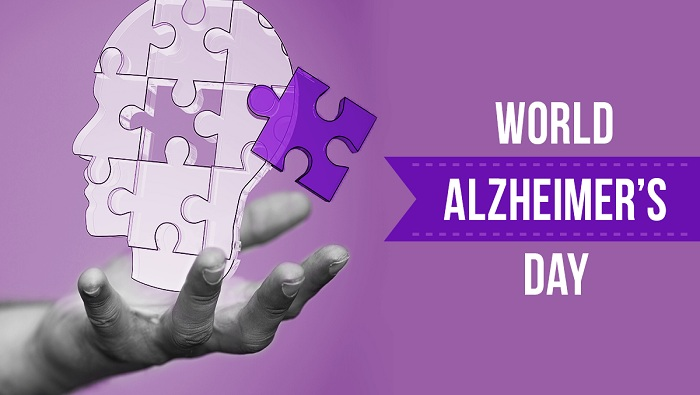 World Alzheimer's Day; celebrate to create awareness about the disease and  to reduce the, stigmatization and lack of information surrounding dementia