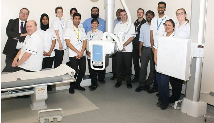 Althea and Samsung Collaborate to Benefit X-ray Services in Leicester