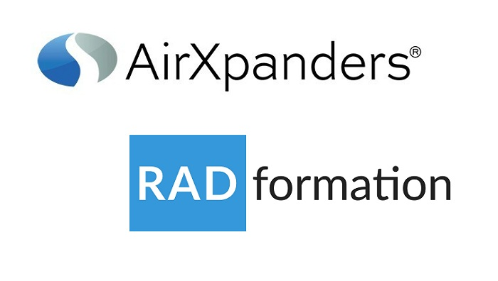 AirXpanders and Radformation Announce Co-Marketing Agreem
