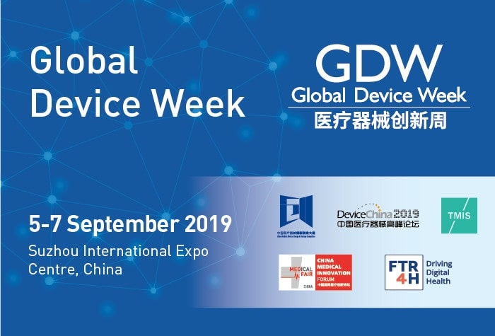 Shaping the Medical Future by Innovation Technology! Focus on Medical Fair China 2019: Global Device Week!