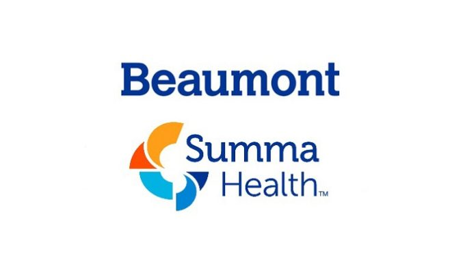 Beaumont Health and Summa Health sign definitive agreement