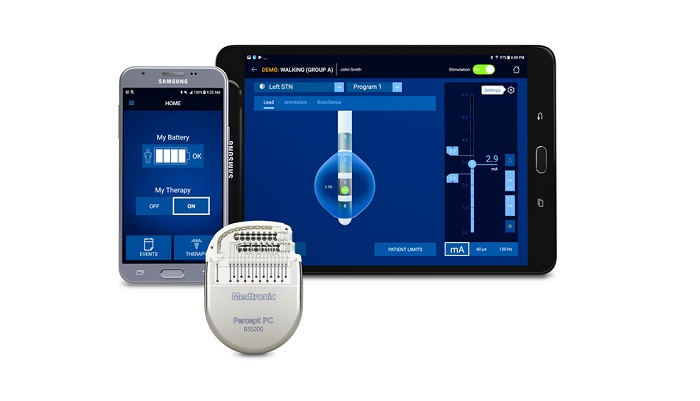Medtronic Receives CE Mark Approval for the Percept  PC Neurostimulator DBS System with BrainSense  Technology