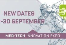 New Dates for Med-Tech Innovation Expo 29-30 September 2020
