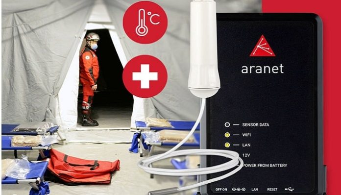 Aranet Releases A Large-Scale Wireless Body Temperature Monitoring Solution for Hospitals Battling COVID-19