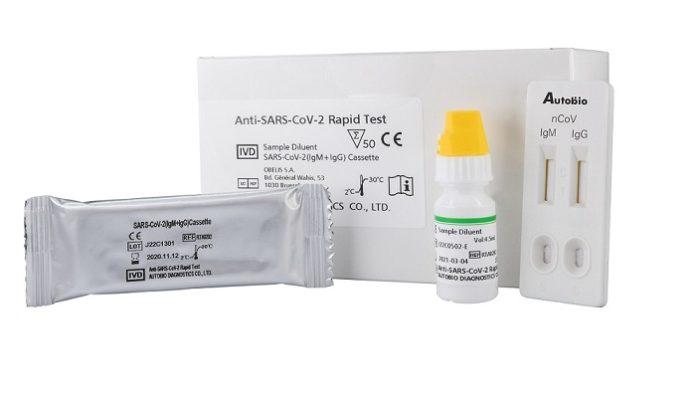 FDA Grants Hardy Diagnostics Emergency UseAuthorization for a Rapid Antibody Test Kitfor COVID-19