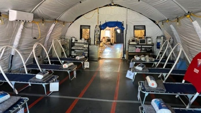 SimpliPhi Power Teams Up with Footprint Project to Deliver Clean Energy Microgrid to Field Hospital for Matamoros Migrant Camp Fighting   COVID-19