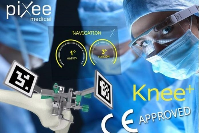 Vuzix announces world's first orthopaedic navigation system using augmented reality smart glasses developed by Pixee Medical