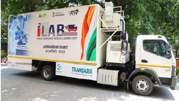 Transasia & AMTZ launch India's first mobile lab for COVID-19 testing