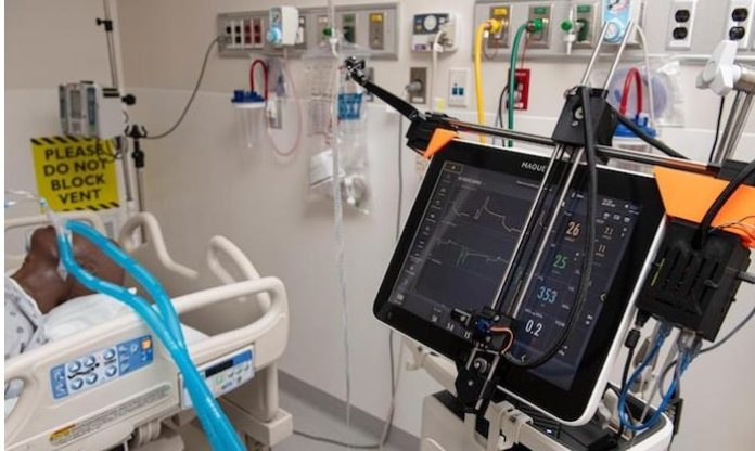 Johns Hopkins researchers develop robotics system to remotely control ventilators