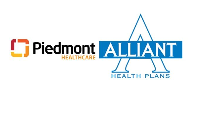 Piedmont Healthcare and Alliant Health Plans Sign Contract