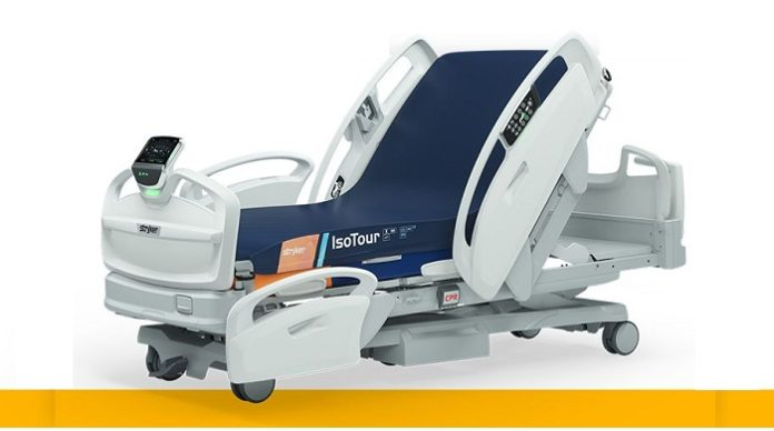 Stryker Launches Industry's First Completely Wireless Hospital Bed