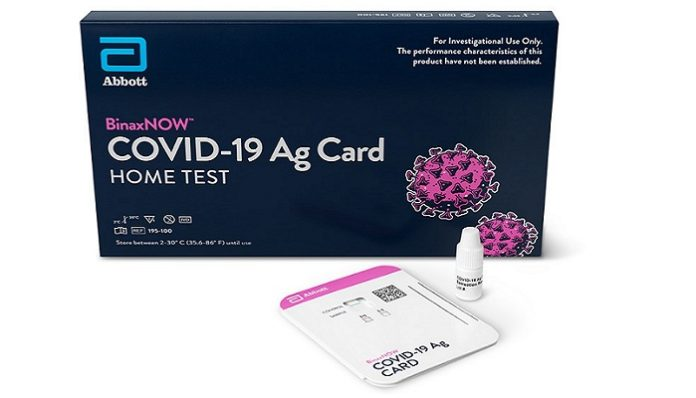 Abbott's BinaxNOW COVID-19 Rapid Test Receives FDA EUA for  First Virtually Guided, At-Home Rapid Test Using eMed's Digital Health Platform