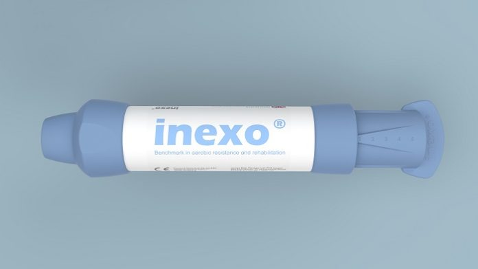 inexo Inspiratory Muscle Training Device Launched by James Barr Design Ltd and Radical Materials Ltd