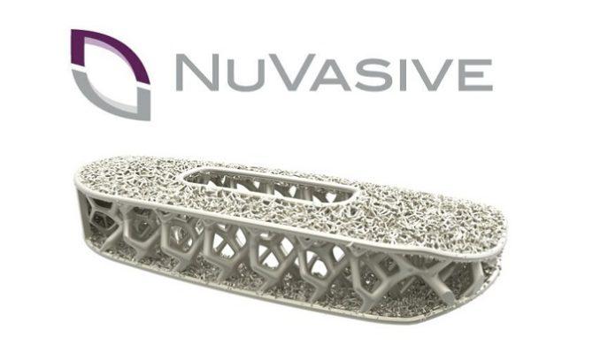 NuVasive Launches Modulus ALIF 3D-Printed Porous Titanium Implant for Anterior Spine Surgery